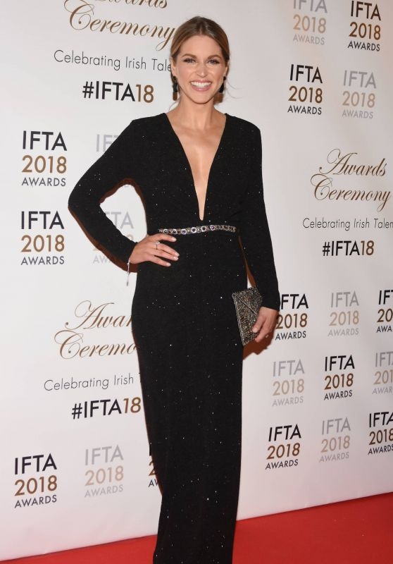 Amy Huberman - IFTA Film & Drama Awards 2018 in Dublin