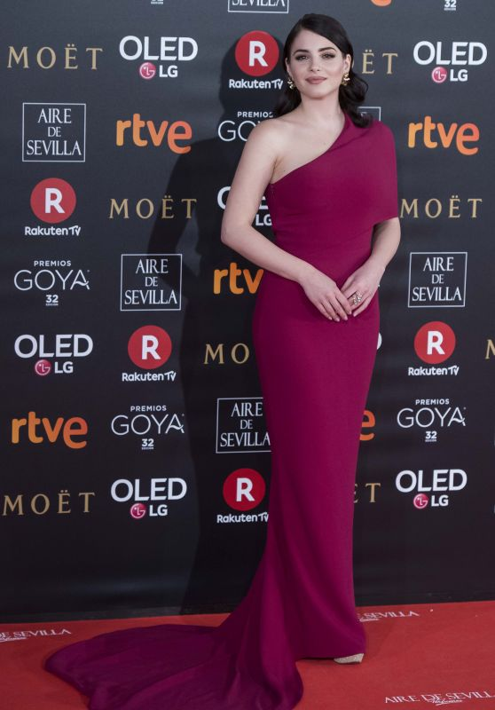 Andrea Duro – 2018 Goya Awards in Madrid