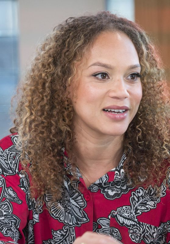 Angela Griffin - Sunday Brunch TV Show in London