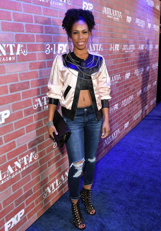 "Angela Lewis - ""Atlanta"" TV Show Premiere in Los Angeles"
