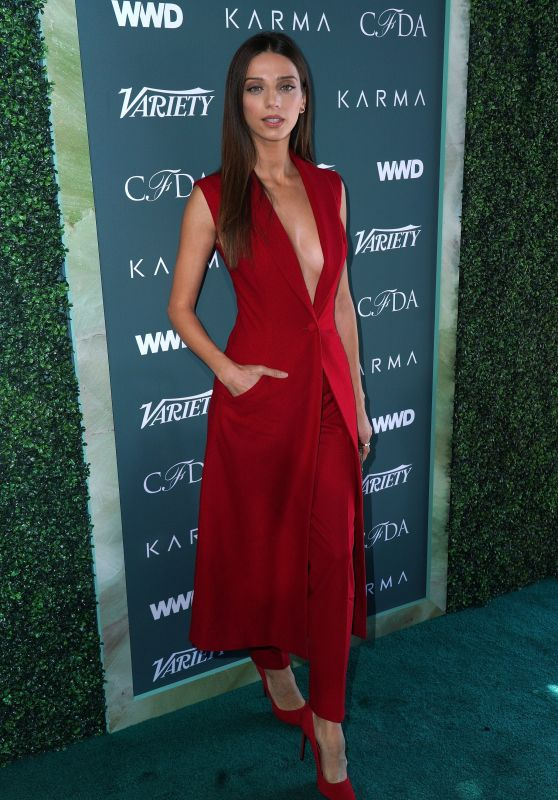 Angela Sarafyan – Variety, WWD and CFDA's Runway to Red Carpet Event in LA