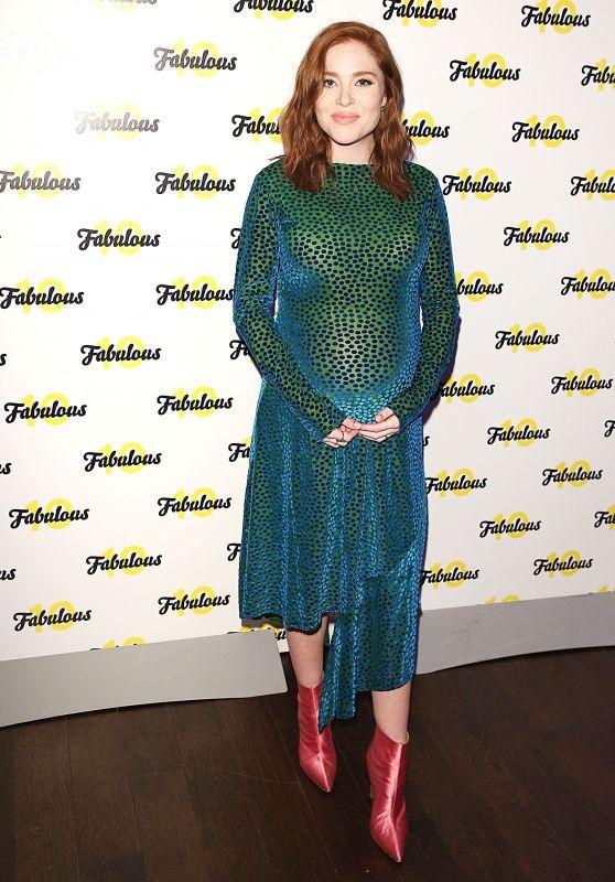Angela Scanlon – Fabulous Magazine 10th Birthday Party in London