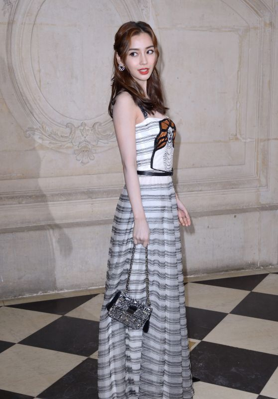 AngelaBaby – Christian Dior Show FW18 in Paris