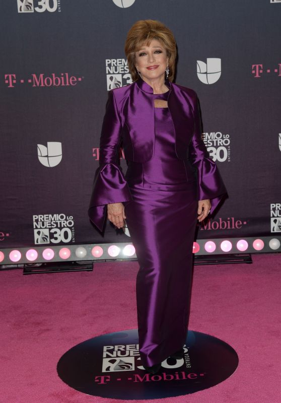 Angelica Maria – Premio Lo Nuestro 2018 Awards in Miami