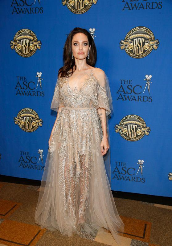 Angelina Jolie - 2018 ASC Awards in LA