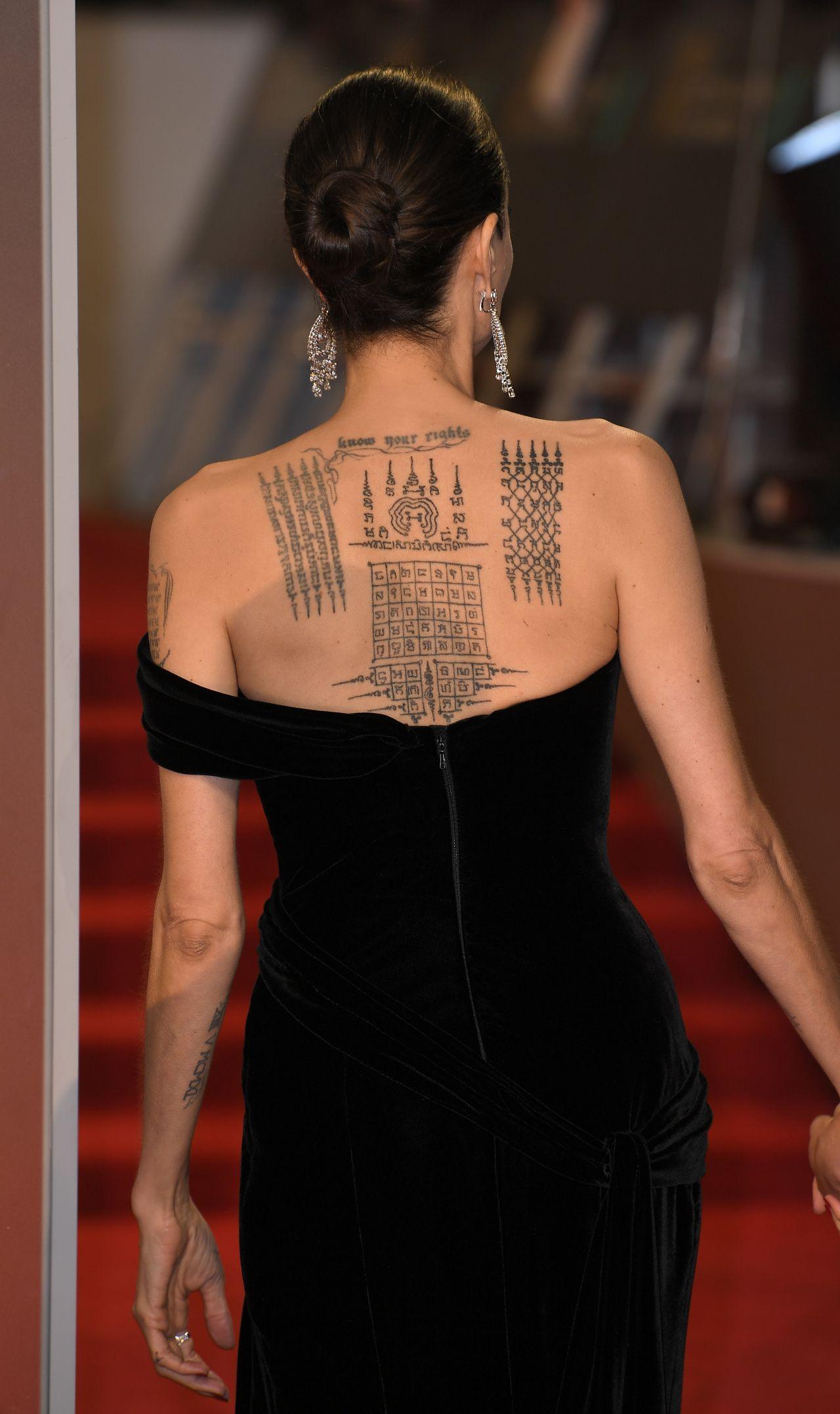 Angelina Jolie 2018 British Academy Film Awards