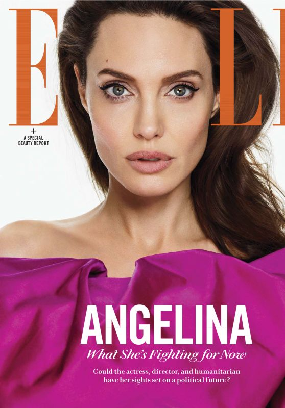 Angelina Jolie - Elle US March 2018