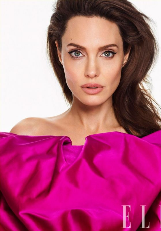 Angelina Jolie - Photoshoot for ELLE March 2018