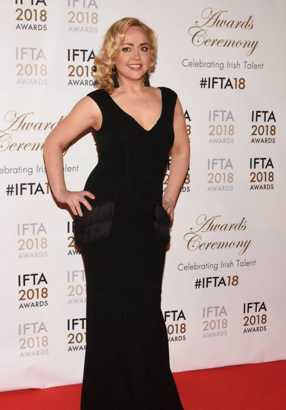 Angeline Ball - IFTA Film & Drama Awards 2018 in Dublin