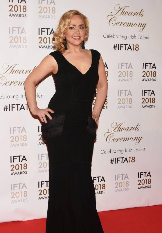 Angeline Ball - IFTA Film & Drama Awards 2018 in Dublin