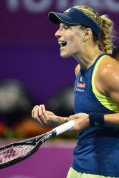 Angelique Kerber – Qatar WTA Total Open in Doha 02/16/2018
