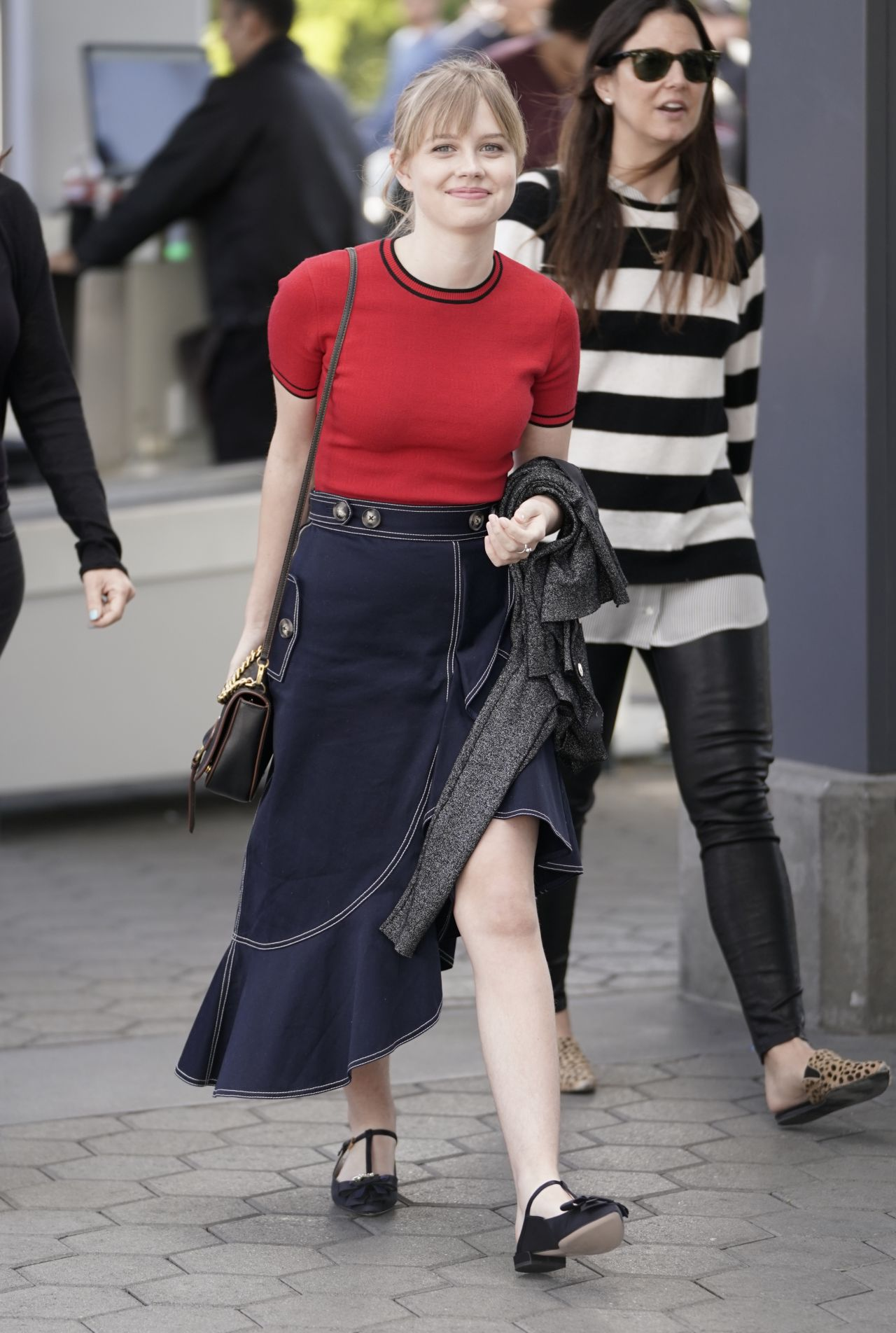 Angourie Rice Filming Extra Tv Show Live In La