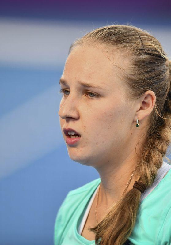 Anna Blinkova – Qatar WTA Total Open in Doha 02/16/2018