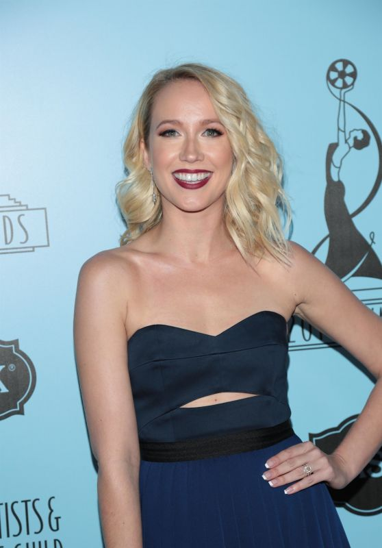 Anna Camp – Make-Up Artist & Hair Stylist Guild Awards in LA
