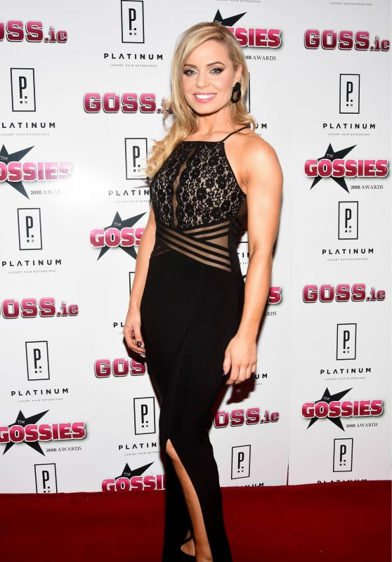 Anna Geary – The Gossies 2018 Awards in Dublin