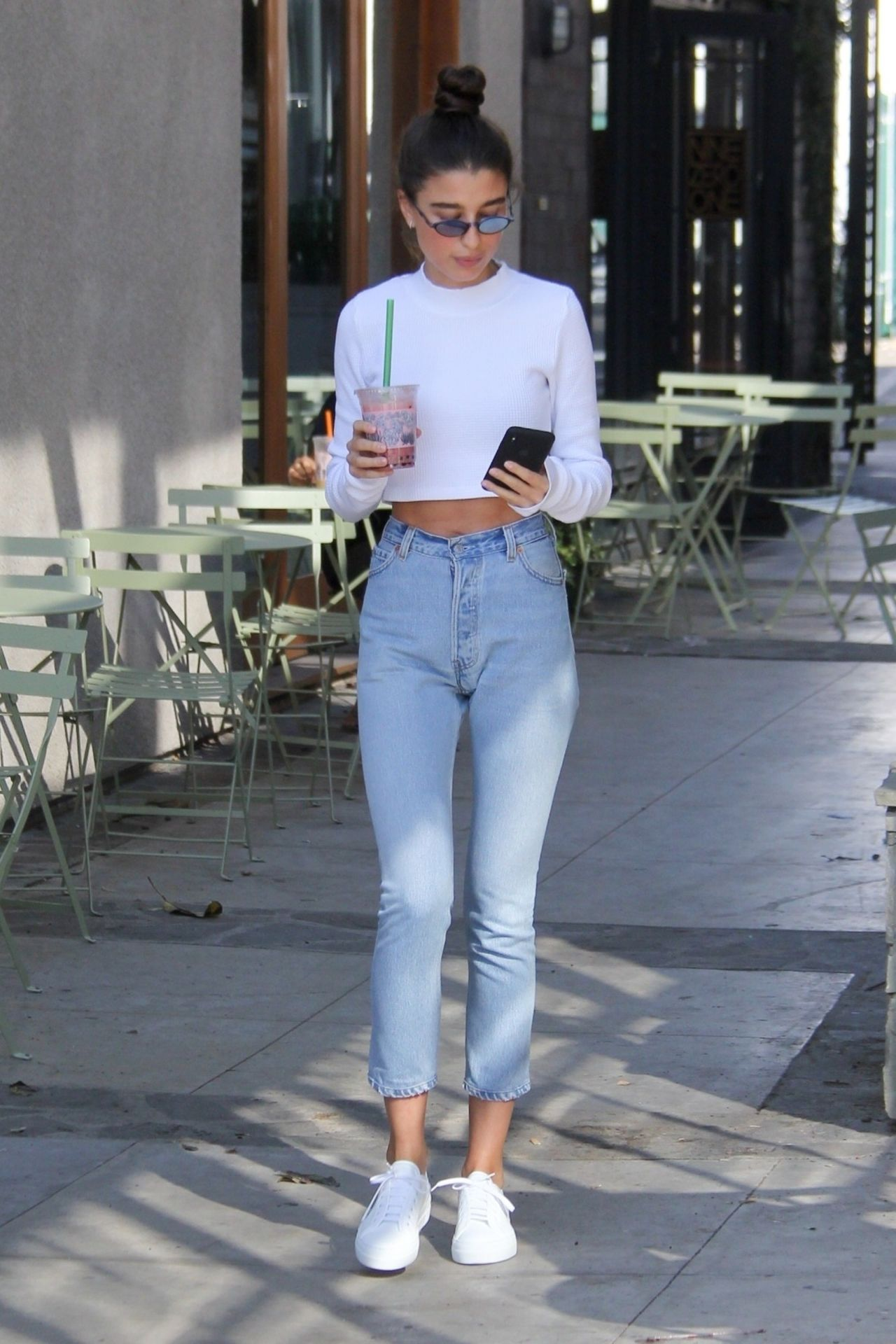 Anna Litva Street Style Melrose Place In West Hollywood