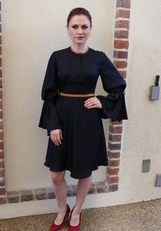 Anna Paquin – Visits the HFPA Offices in Los Angeles