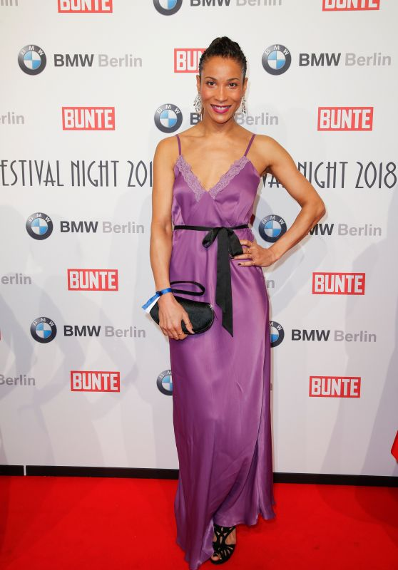 Annabelle Mandeng – BUNTE & BMW Host Festival Night, Berlinale 2018