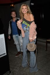 AnnaLynne McCord Night Out Style - Steps Out for Dinner in LA