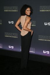 "Annie Ilonzeh – ""Unsolved The Murders of Tupac and The Notorious B.I.G."" TV Show Premiere in LA"