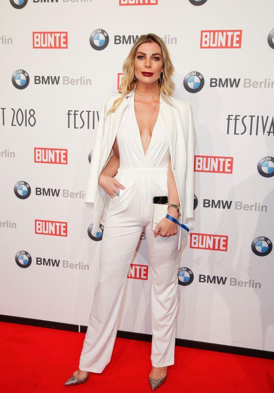Annika Gassner – BUNTE & BMW Host Festival Night, Berlinale 2018