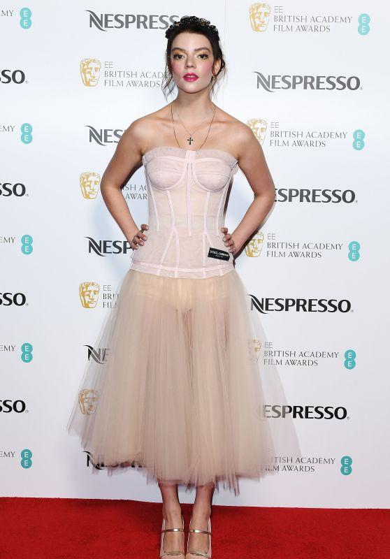 Anya Taylor-Joy – British Academy Film Awards Nominees Party in London