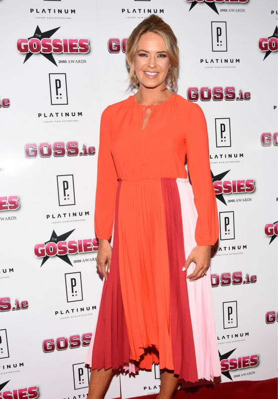 Aoibhin Garrihy – The Gossies 2018 Awards in Dublin