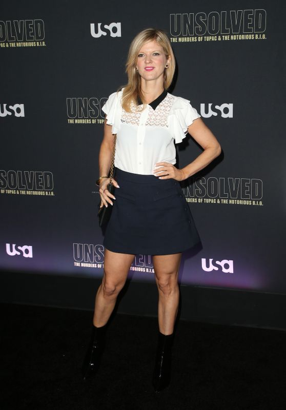 "Arden Myrin – ""Unsolved The Murders of Tupac and The Notorious B.I.G."" TV Show Premiere in LA"
