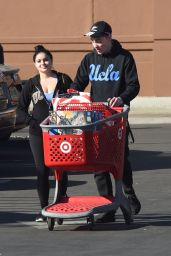Ariel Winter and Levi Meaden Shopping at the Target Store in LA