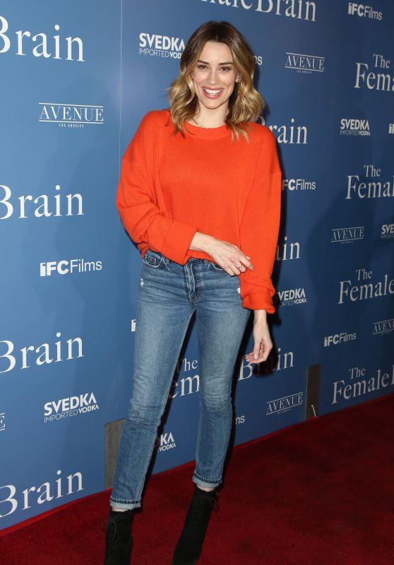 "Arielle Vandenberg – ""The Female Brain"" Premiere in Los Angeles"