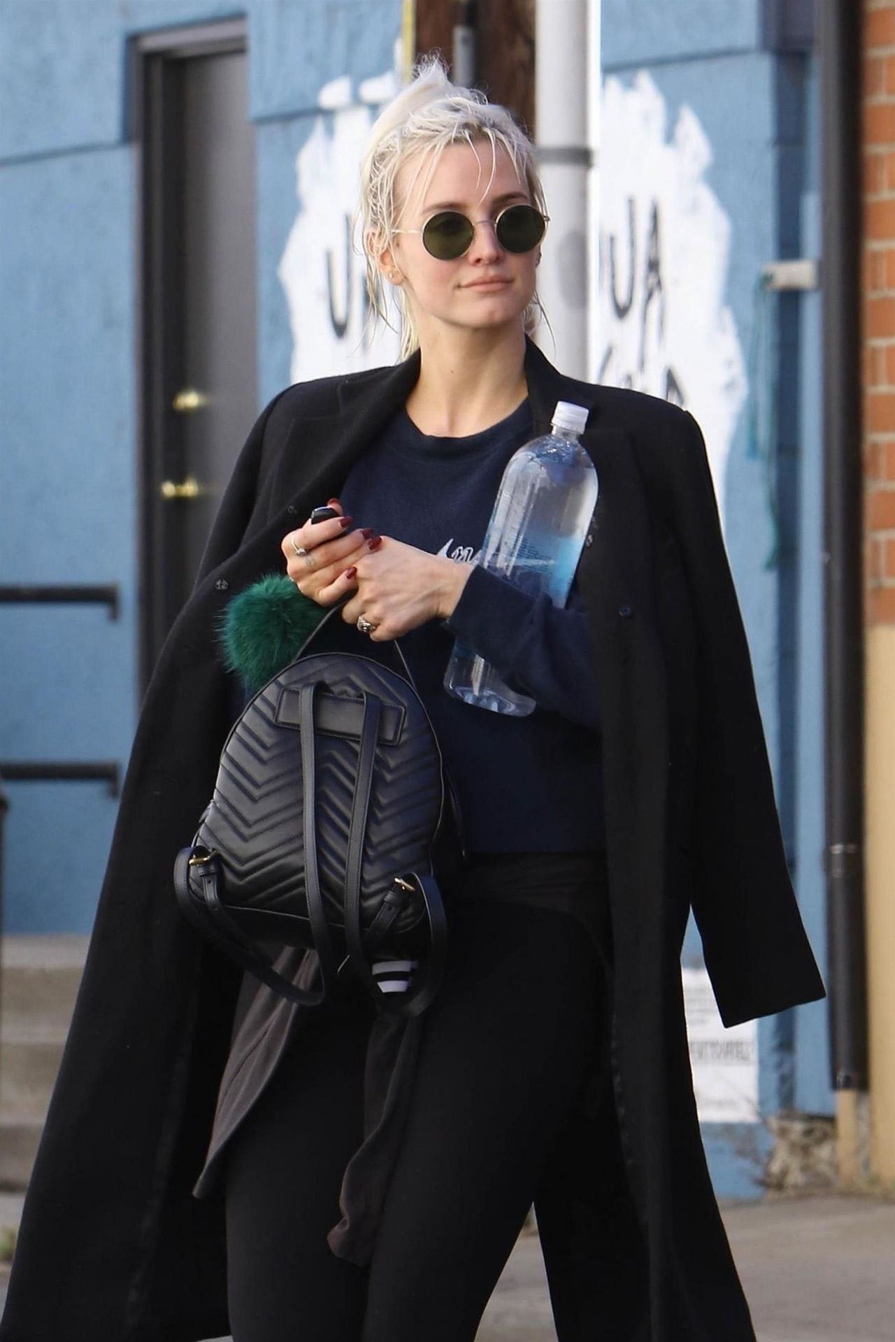 Ashlee Simpson Hits The Gym In LA 02202018