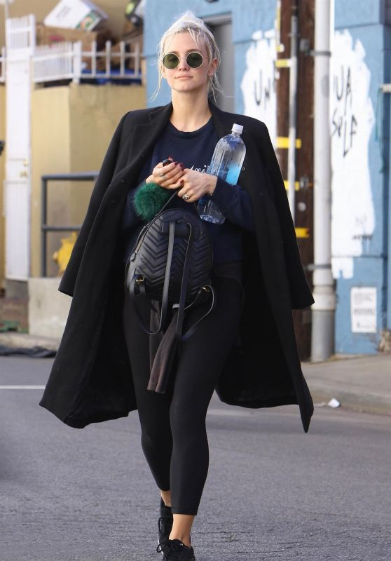 Ashlee Simpson - Hits the Gym in LA 02/20/2018