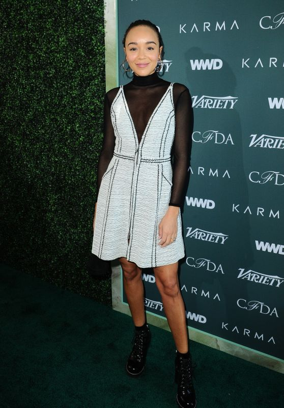 Ashley Madekwe – Variety, WWD and CFDA's Runway to Red Carpet Event in LA