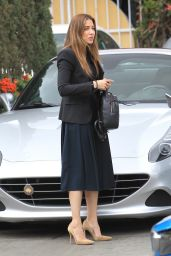 Asifa Mirza Shopping in Beverly Hills 02/27/2018