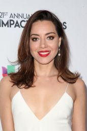Aubrey Plaza – 2018 Impact Awards in Los Angeles