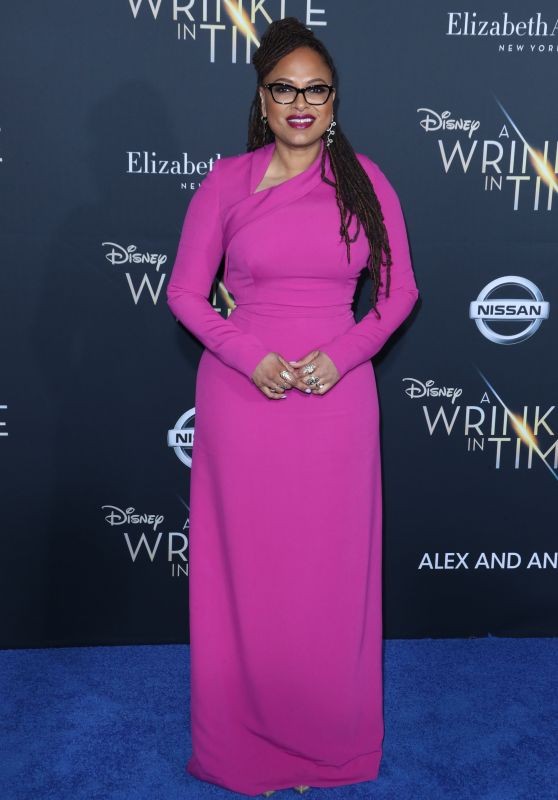 "Ava DuVernay – ""A Wrinkle in Time"" Premiere in Los Angeles"