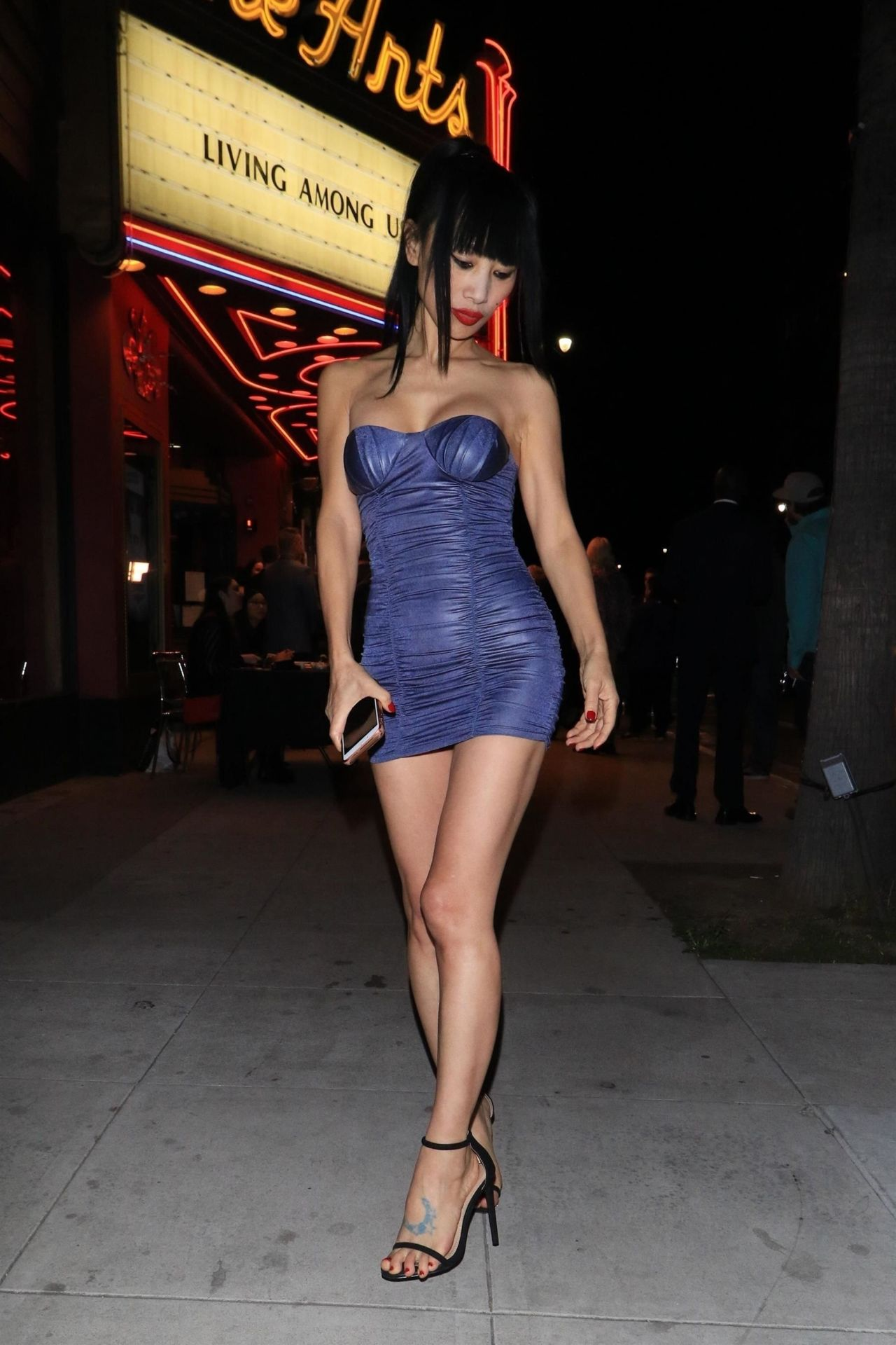 Bai Ling Arriving To The Quot Living Among Us Quot Premiere In La