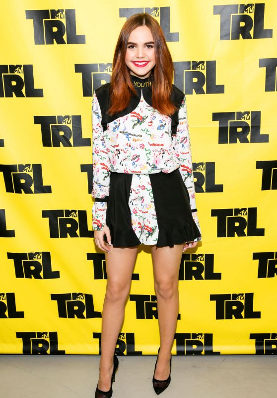 Bailee Madison at MTV TRL at MTV Studios in NYC