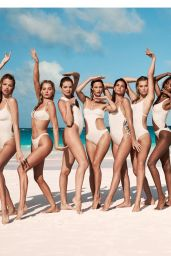 Barbara Palvin, Hannah, Elsa Hosk, Josephine, Hailey Clauson and more - Solid & Striped Swimteam2018