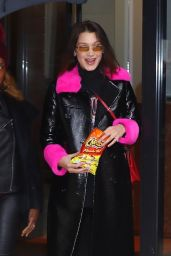 Bella Hadid Street Fashion - Out in New York City 02/10/2018