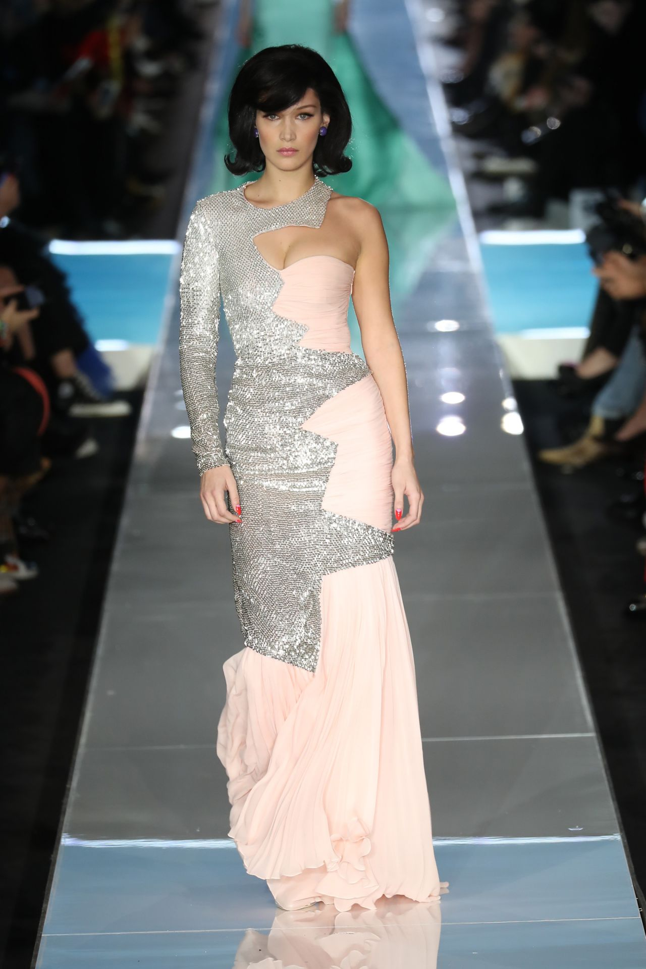 Bella Hadid Milan  Fashion Week