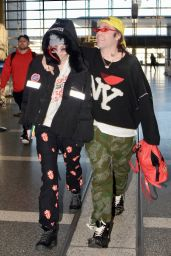 Bella Thorne and Mod Sun - LAX Airport 02/25/2018