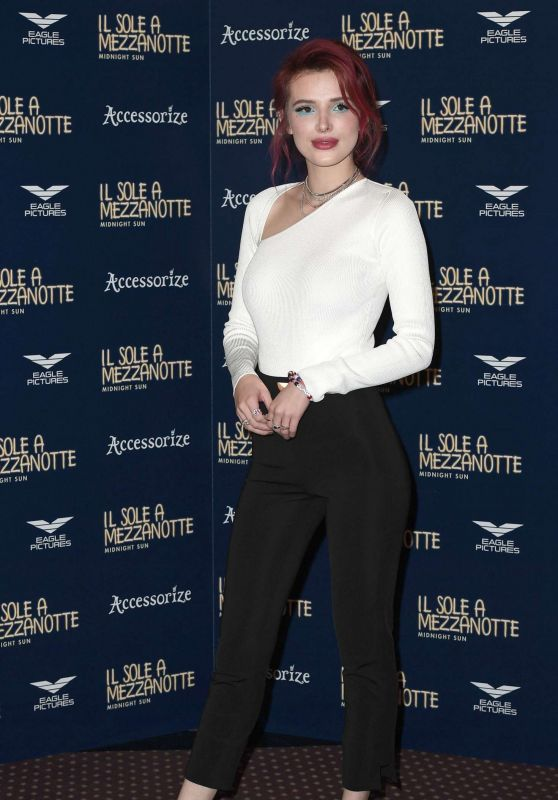 "Bella Thorne - ""Midnight Sun"" Photocall in Rome 02/27/2018"