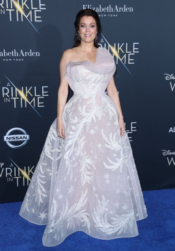 "Bellamy Young – ""A Wrinkle in Time"" Premiere in Los Angeles"