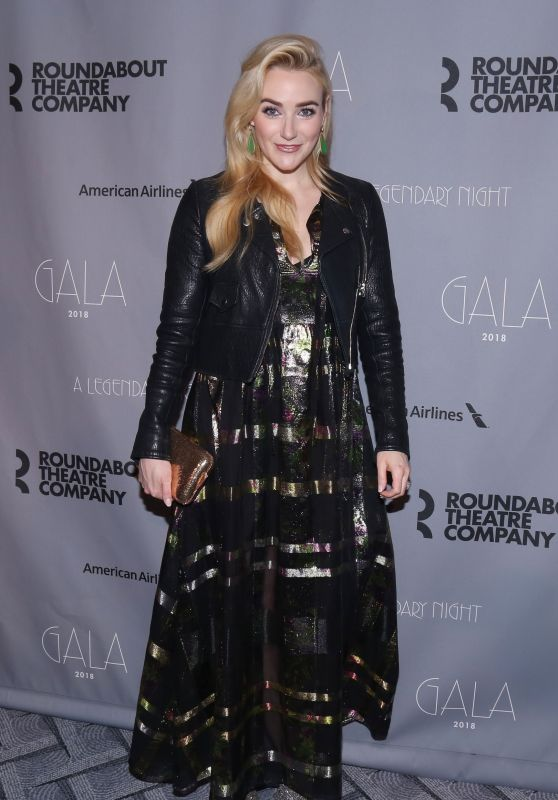 Betsy Wolfe – 2018 Roundabout Theatre Company Gala in New York