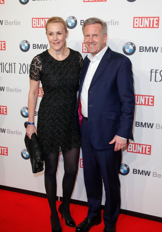 Bettina Wulff – BUNTE & BMW Host Festival Night, Berlinale 2018