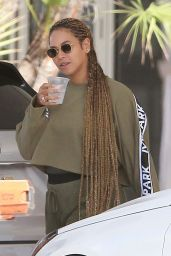 Beyonce on a Luxury Yacht in Miami, February 2018