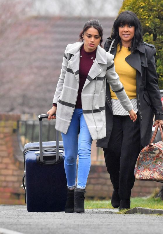 Bhavna Limbachia and Faye Brookes - Coronation Street in Manchester 02/26/2018