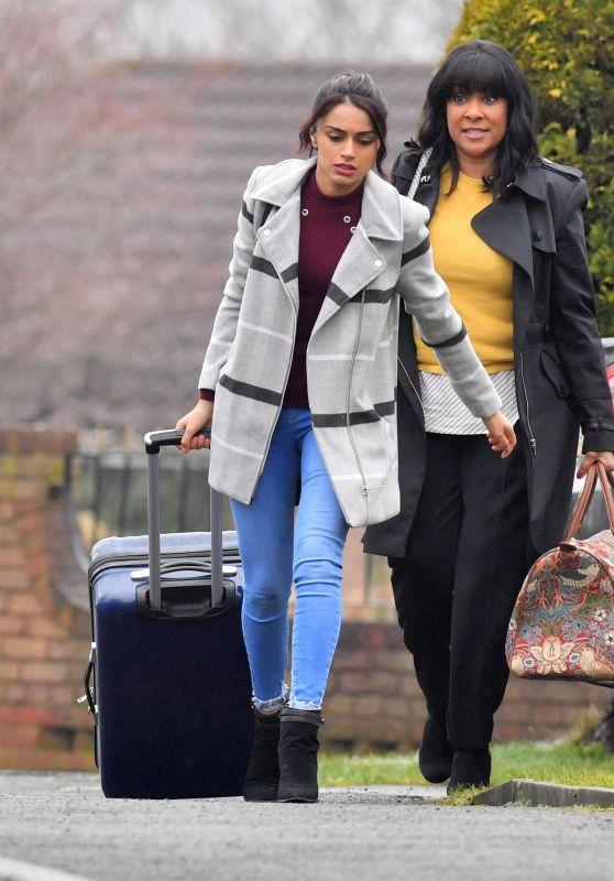 Bhavna Limbachia and Faye Brookes - Coronation Street in Manchester 02/26/2018