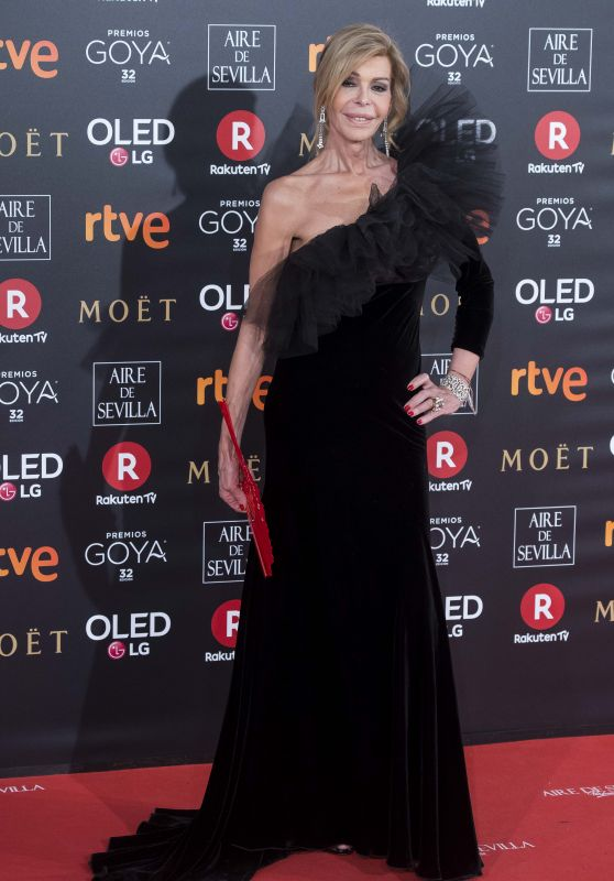 Bibiana Fernandez – 2018 Goya Awards in Madrid
